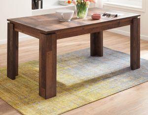 Esstisch Indy in Old Used Wood Vintage Shabby Küchentisch ausziehbar 160 - 200 x 90 cm Holztisch bis 8 Personen