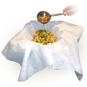 1x Passiertuch Filterstar 75x75 cm aus Spezialvlies Filtertuch Seihtuch Käsetuch Dampftuch Lebensmittelfiltration