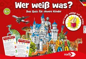 Noris Spiele Wer weiß was?; 606011635