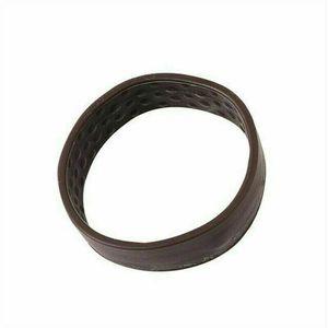 Neue Damen Silikon faltbare feste elastische Haargummi Elastisches Haarband Gummiband Haarband (Dunkelbraun)