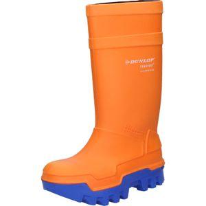 Dunlop Purofort Thermo+ full safety S5 CI SRC Winterstiefel - Größe 43 - orange