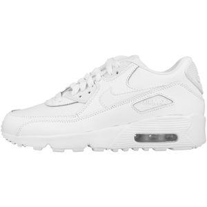 NIKE AIR MAX 90 (GS) Damen Sneaker Weiß Schuhe, Größe:39