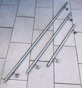 Handlauf FLEXI 300 cm V2A Edelstahl Wandhandlauf Geländer Treppe Stange Griff Brüstung