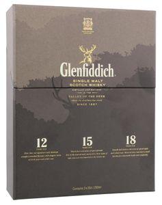 Glenfiddich Single Malt Scotch Whisky (3 x 0,20 l)