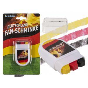 Out of the Blue Fan-Schminke im Blockstift, Deutschlandflagge