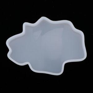 Silikonform Untersetzer Gießform UV Resin Mold Form für DIY Basteln Tischdekoration