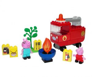 BIG PlayBIG Bloxx Peppa Pig Feuerwehrauto