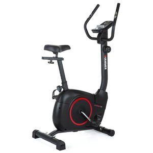 HAMMER Heimtrainer Fitnessbike Cardio T3, für Fitness zu Hause,  8-fache Widerstandseinstellung, Permanent-Magnetbremssystem