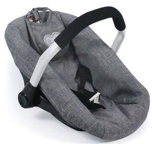 Bayer Chic 2000 708 76 Puppen-Autositz, Jeans Grey