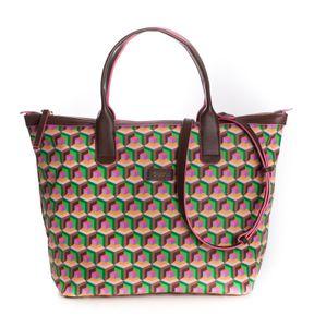 Oilily Geo Diamonds Handbag Jolly Green