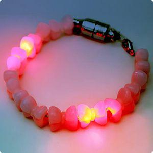 Modisches LED-Armband blinkendes LED-Armband mit Schleifchen  preiswet schnäppchen Girls Mädchen