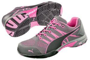 PUMA 642910 Celerity Knit Pink WNS Low S1 Damen Frauen 64.291.0 Arbeitsschuhe Sicherheitsschuhe, Schuhgröße:37