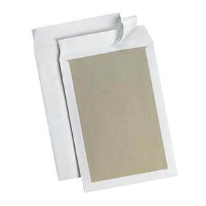 10 MAILmedia Papprückwandtaschen B4 ohne Fenster