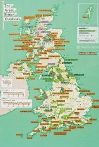 The Great British Outdoors - Collect and Scratch Map