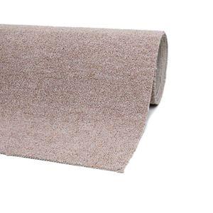 Teppichboden Auslegware Beige 200 x 600 cm Meterware Bodenbelag Teppich
