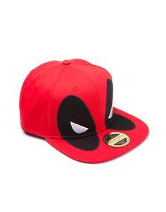 Deadpool Snapback Cap Big Face