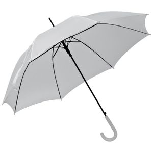 Automatik-Regenschirm / Farbe: weiss