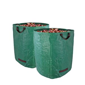 Gartenabfallsack stabil Gartensack 272 Liter 2 Stück