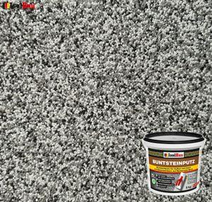 Isolbau Mosaikputz Buntsteinputz BP 20 (grau, weiss, schwarz) 5 kg Fertigputz