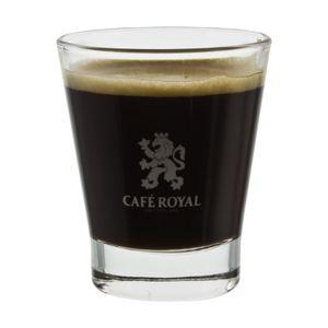 Café Royal Switzerland Espressoglas, Espresso Kaffee Kaffeeglas, Beistellglas, Trinkglas, Glas, Klar, 40 ml