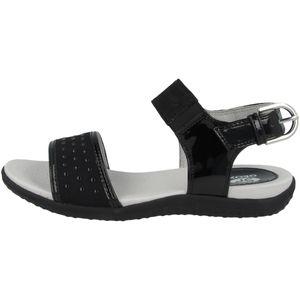 GEOX Damen Sandalen Schwarz Schuhe, Größe:40