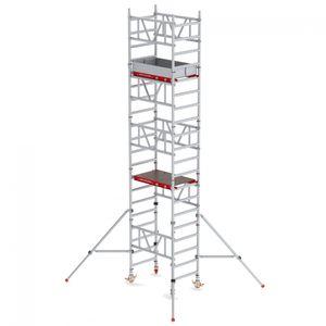 Altrex MiTower 1-Personen-Gerüst Aluminium mit Holz-Plattform 0,75x1,27m 6,20m AH