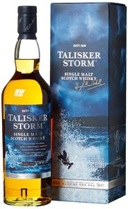 Talisker Storm Single Malt Scotch Whisky in Geschenkpackung | 45,8 % vol | 0,7 l
