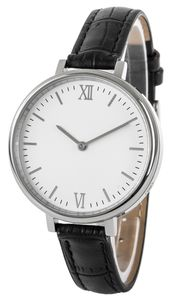 Funk-Armbanduhr, Damen, Edelstahl
