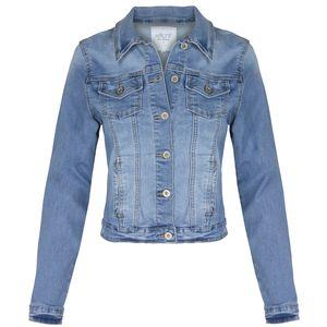 HAILYS Damen Jeansjacke, Farbe:hellblau1, Größe:M