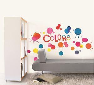 Wandtattoo Graffiti Colors