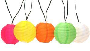 Solar Lampion-Lichterkette 10 LEDs