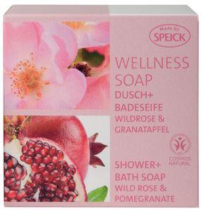 SPEICK Wellness Dusch + Badeseife Wildrose Granatapfel 200 g