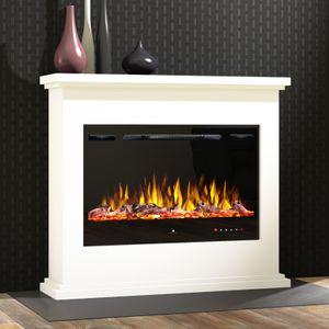 Noble Flame FERRARA [Elektro Standkamin]: Weiß