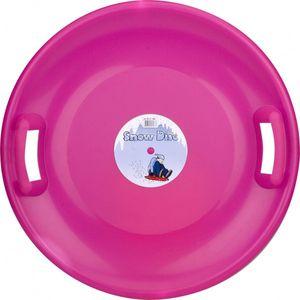 Kinder Gleitschüssel Snow Disc Rosa, Größe:60