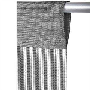Fadenvorhang Prince, Größe: 90x250cm, Farbe: Grau