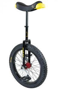 Einrad QU-AX Muni Starter 20' schwarz Alufelge, Reifen schwarz