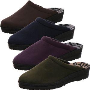 Rohde Damen Pantoffeln Hausschuhe Weite G Neustadt-D 2291, Größe:36 EU, Farbe:Blau