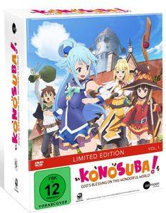 KonoSuba - Vol.1 + Sammelschuber - Limited Edition - DVD