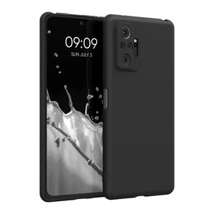 kwmobile Hülle kompatibel mit Xiaomi Redmi Note 10 Pro - Hülle Handyhülle - Handy Case in Schwarz matt