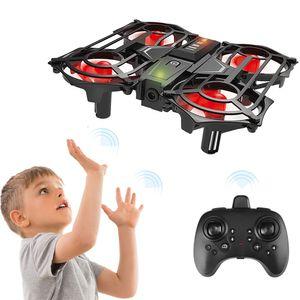 RH817 RC Quadcopter Geste Sensing Quadcopter 2,4 GHz RC Drone Hoehe Halten Headless-Modus 3D Flip Safe Geschlossenes Design RC Spielzeug Geschenk fuer Kinder