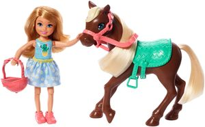 Barbie Chelsea Puppe & Pony (blond)