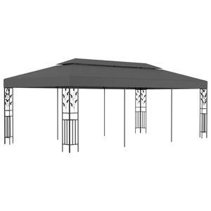 vidaXL Pavillon 3x6 m Anthrazit