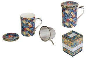 Filtertasse für Teeaufgüsse Equa Porzellan 350 ml