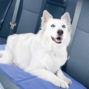 Kühlmatte für Haustiere Kühlkissen Kühldecke Auto Zuhause unterwegs Hund Katze, Größe:50x90 cm(Große Hunde und Katzen)