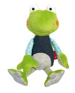 sigikid Patchwork Sweety Frosch 39504 - Sweety Cuddly Friends Frosch 32cm