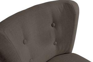 Max Winzer Neele Sessel - Farbe: schoko - Maße: 69 cm x 68 cm x 80 cm; 2693-1100-2047392-F09