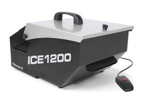 BeamZ Ice1200 MKII - Eis-Nebelmaschine, 1200 Watt, Stand-Alone-Modus, schwarz-grau
