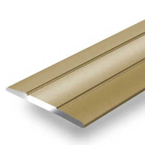 Übergangsprofil Abdeckleiste Firm K132 Form: C Breite: 36 mm Länge: 90 cm Selbstklebend Gold