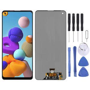 Für Samsung Galaxy A21s A217F Display Full LCD Einheit Touch Ersatzteil Reparatur Schwarz Neu