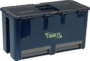 Raaco Werkzeugkoffer Compact 27 mit 6 Einsätzen 136587